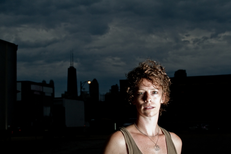 Jessica Hudson. Chicago performer. Portrait.
