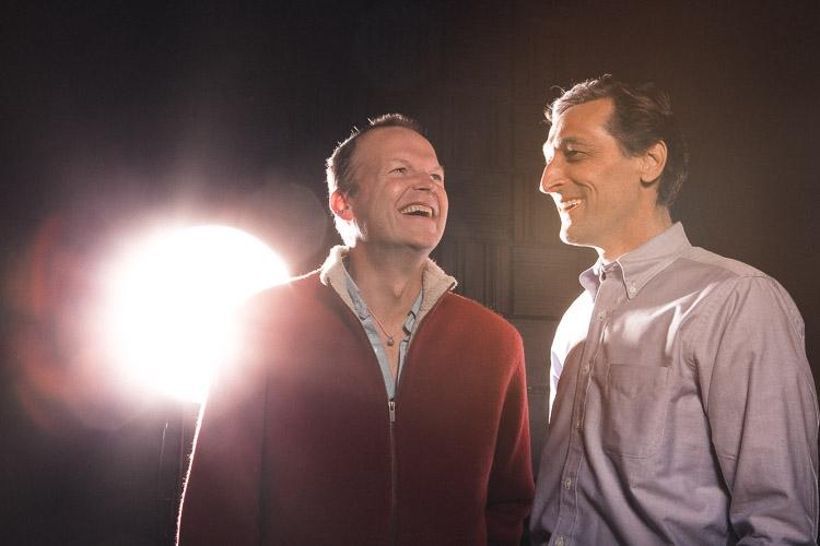 TJ Jagodowski & Dave Pasquesi Directors, The Mission Theater at iO