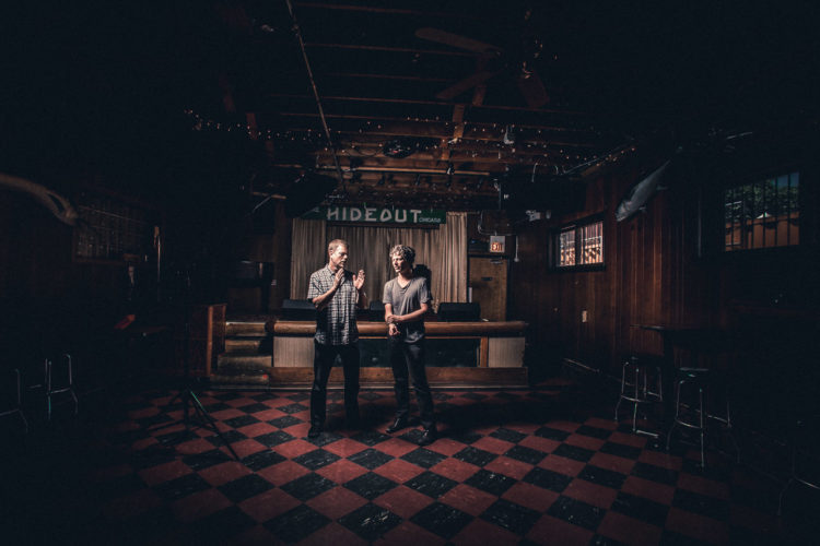 Ken Vandermark and Brian Case of Disappears at The Hideout, Chicago